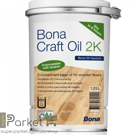Bona Craft Oil 2К (Бона Крафт Оил) 2К 1,25л