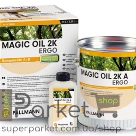 Pallmann Magic Oil 2K Ergo (Палман Мейджик Оил 2К Ерго) 2,7л