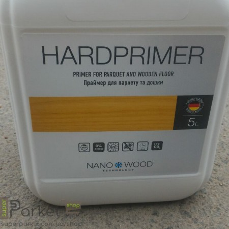 Nano Wood Hardprimer (Нано Вуд Хардпраймер) 5л