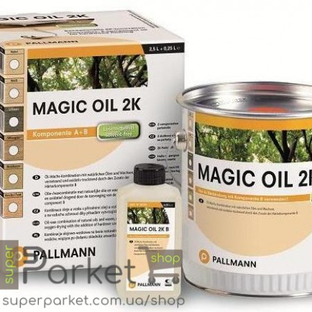 Pallmann Magic Oil 2K (Палман Мейджик Оил 2К) 2,7л