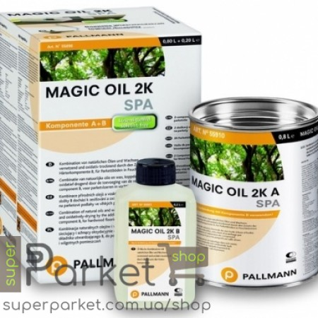 Pallmann Magic Oil 2K Spa (Палман Мейджик Оил 2К Спа) 1л