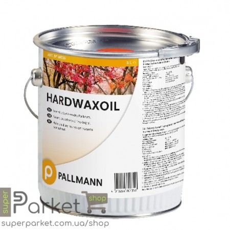 Pallmann Hardwax Oil (Паллманн Хардвакс Оил) 3л