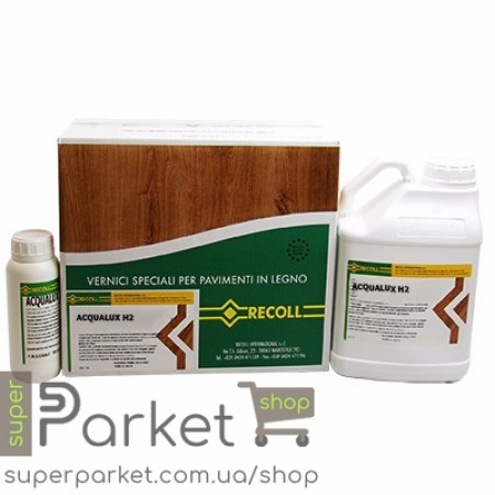 Recoll Acqualux H2 (Рекол Аквалюкс H2) 2K 5л